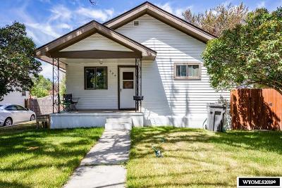 Rock Springs Single Family Home For Sale: 604 Massachusetts