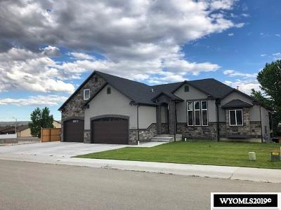 Rock Springs Single Family Home For Sale: 3240 Temple Peak