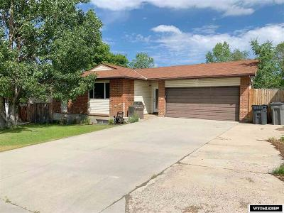 Rock Springs Single Family Home For Sale: 1021 Maple