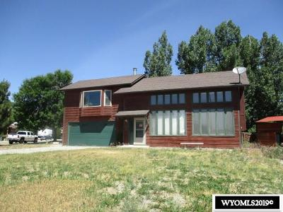 Rock Springs Single Family Home For Sale: 3405 Tahoe