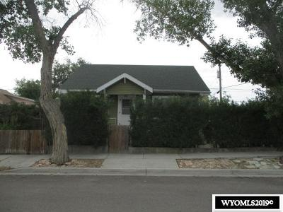 Rock Springs Single Family Home For Sale: 902 8th