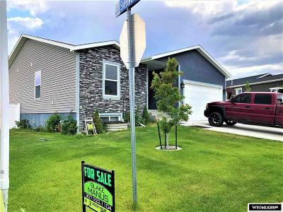 Rock Springs Single Family Home For Sale: 380 Sheep Creek