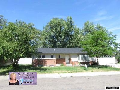Casper Single Family Home For Sale: 3320 Hawthorne