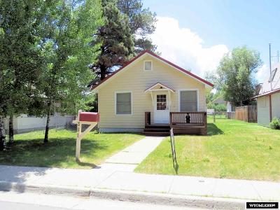 Lander Single Family Home For Sale: 381 Cascade