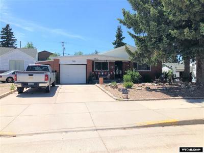 Kemmerer Single Family Home For Sale: 1409 Central