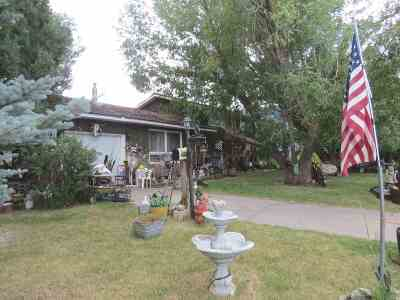 Lander Single Family Home For Sale: 480 N 9th
