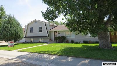 Lander Single Family Home For Sale: 330 Grand View