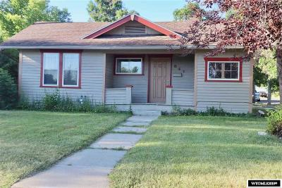 Casper Single Family Home For Sale: 841 W 13th