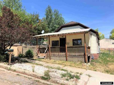 Kemmerer Single Family Home For Sale: 513 Sapphire St