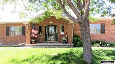 Lander Single Family Home For Sale: 1465 Goodrich
