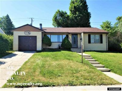 Casper Single Family Home For Sale: 1901 Hyview
