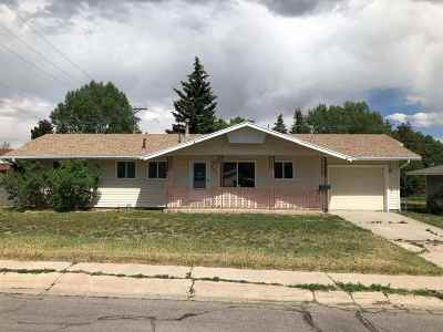 Kemmerer Single Family Home For Sale: 921 3rd West Ave.