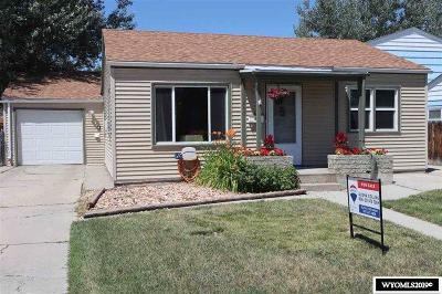 Casper Single Family Home For Sale: 1250 S Melrose