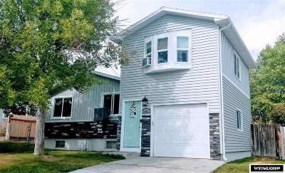Green River Single Family Home For Sale: 1805 West Teton
