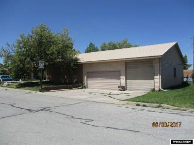 Evanston WY Single Family Home For Sale: $239,000