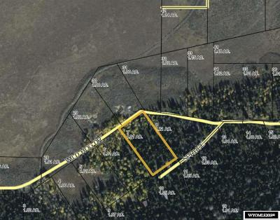 Dubois,  Kinnear,  Crowheart, Pavillion Residential Lots & Land For Sale: Lot 7 Long Creek Subdivision