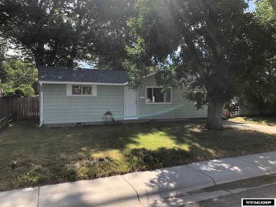 Casper Single Family Home For Sale: 1537 Brigham Young