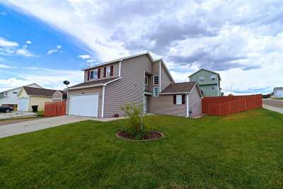 Casper Single Family Home New: 2745 Fairdale