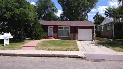 Casper Single Family Home For Sale: 1625 S Pine