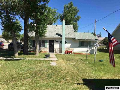 Diamondville Single Family Home For Sale: 500 Diamondville Ave
