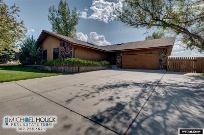 Casper WY Single Family Home New: $305,000