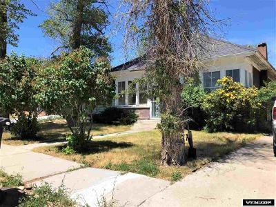 Kemmerer Single Family Home For Sale: 609 Sapphire