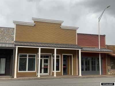 Dubois,  Kinnear,  Crowheart, Pavillion Commercial For Sale: 120 E Ramshorn
