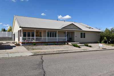 Evanston WY Single Family Home For Sale: $319,000