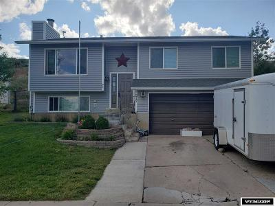 Evanston WY Single Family Home For Sale: $182,500