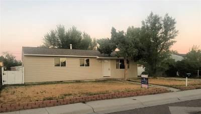 Casper Single Family Home For Sale: 1837 Laramie