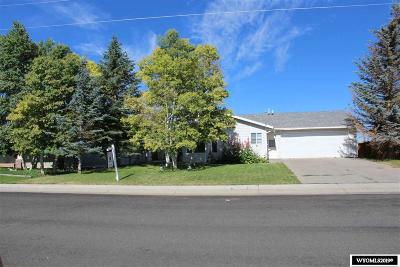 Uinta County Single Family Home For Sale: 105 N Lyman St