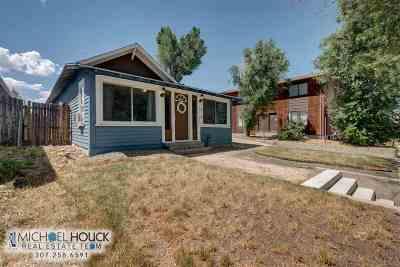 Casper Single Family Home For Sale: 1130 S Walnut
