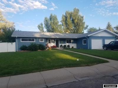 Casper Single Family Home Pending-Continue To Show: 3601 Hawthorne