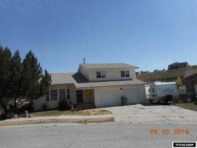 Evanston WY Single Family Home For Sale: $227,000