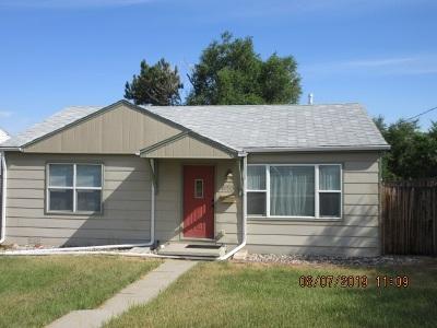 Casper Single Family Home For Sale: 1130 E 19th St