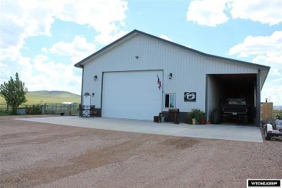 Glenrock, Alcova, Casper, Douglas, Evansville, Bar Nunn, Midwest Single Family Home For Sale: 19 Wild Horse