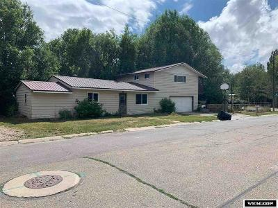 Evanston WY Single Family Home For Sale: $129,900