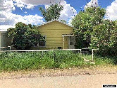 La Barge Single Family Home For Sale: 154, 162, 168 S. Blake St