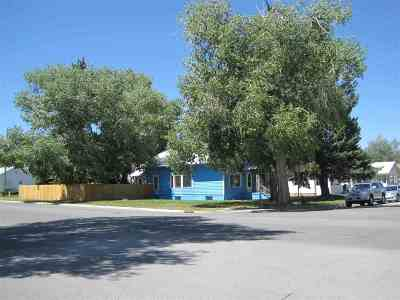 Evanston WY Single Family Home For Sale: $154,700