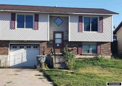 Evanston WY Single Family Home For Sale: $75,000