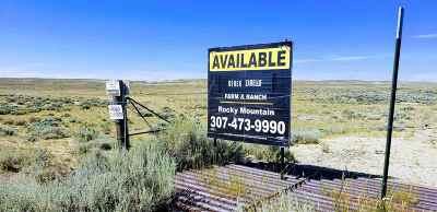 Casper Residential Lots & Land For Sale: W Hwy 20/26