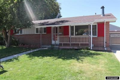 Casper Single Family Home For Sale: 1190 S Forest