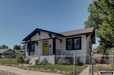 Casper Single Family Home For Sale: 342 S Lincoln