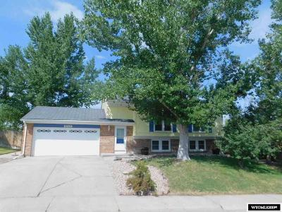 Casper Single Family Home New: 2252 S Fairdale