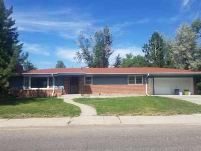 Casper Single Family Home For Sale: 1634 Bellaire