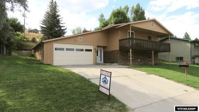 Lander Single Family Home For Sale: 875 S 9th