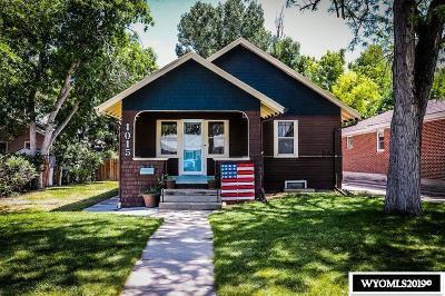 Casper Single Family Home For Sale: 1015 S Ash