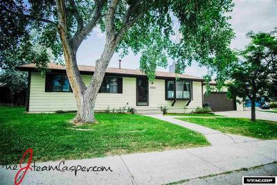 Casper Single Family Home For Sale: 2302 Sagewood