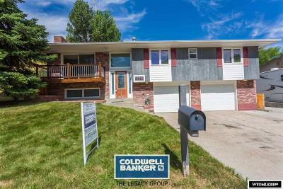Casper Single Family Home For Sale: 3410 Saratoga