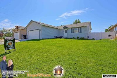 Casper Single Family Home For Sale: 6313 Painted Horse